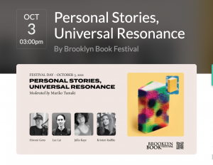 Event notice for Brooklyn Book Fest
