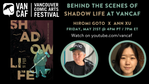 Poster for VanCaf Shadow Life event
