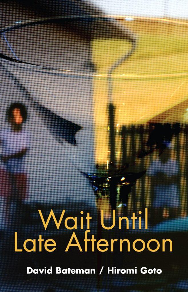 book cover hiromi goto david bateman wait until late afternoon